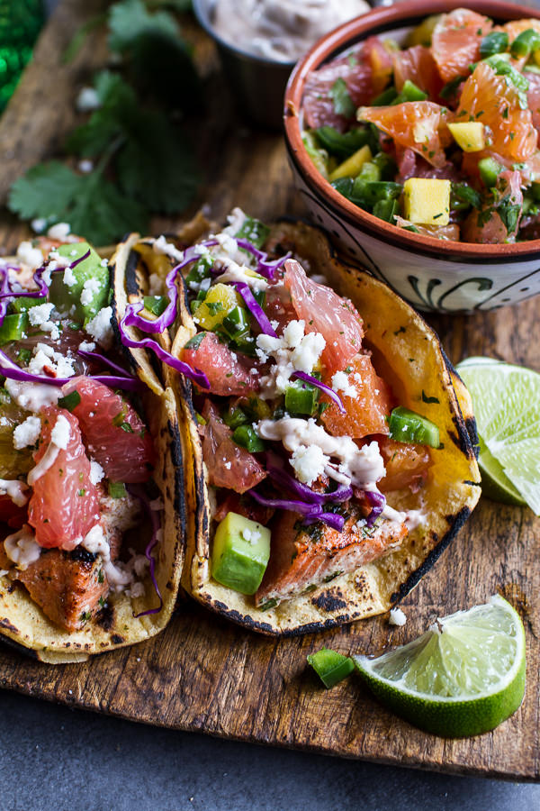 Cuban-Fish-Tacos-with-Citrus-Mango-Slaw-Chipotle-Lime-Crema.-1