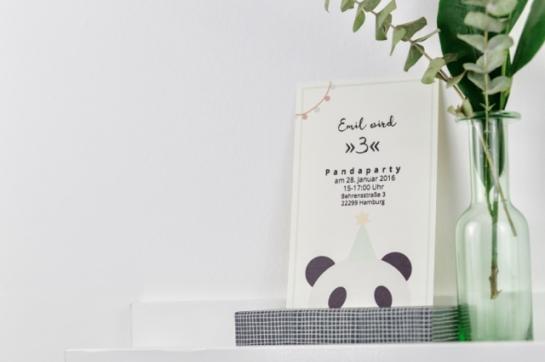 PandaPartyEinladung